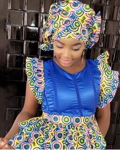 Latest African Fashion Dresses, African Dresses For Women, African Wear, Dresses For Teens, African Design, Pretty Dresses, Baby Dress, Fashion Outfits, Wax