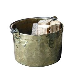 Looking for the perfectly stylish way to store the logs that will keep you warm and cozy all winter? Look no further than these striking firewood holders. Firewood Holder, Log Holder, Logs, Wrought Iron, Warm And Cozy, 18th Century, Dutch, Barware, Basket