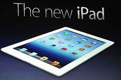 The new iPad. technology