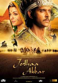 Jodhaa Akbar - Hrithik Roshan & Aishwarya Rai an amazing love story about the mughal emporer akbar and his wife jodha...they look amazing together