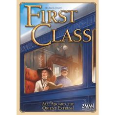 First Class: The Orient Express Board Game In First Class Unterwegs im Orient Express players try to score as many fame points as possible by building a rich network of rails by building luxurious train cars or by serving well-paying passenger http://www.MightGet.com/march-2017-2/first-class-the-orient-express-board-game.asp