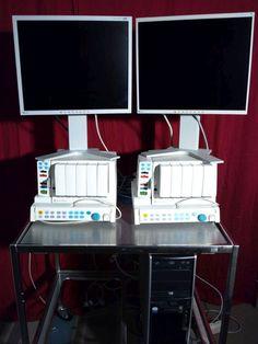 GE / Datex Ohmeda F-CU5P, 6 Stationen-Netzwerk Ge Healthcare, Monitor, Desk, Ebay, Electronics, Medicine, Desktop, Table Desk, Office Desk