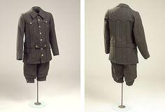 Hunter clothes for a boy  1915  Denmark