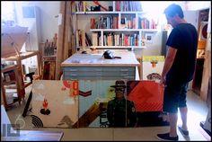 Inside Blaine Fontana's studio