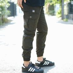Navy Green jogger cargo pants from @TeesGoods . #teesgoods