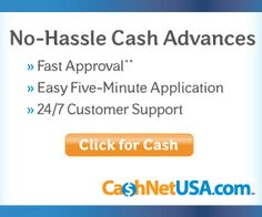 Many payday lenders approve you for a one-time loan and require you to reapply after paying off each loan. CashNetUSA works differently from those services. It is a direct payday loan lender that approves you for an instant payday loan line of credit. After approval for that line of credit, you can borrow against it whenever you find yourself needing a little extra money between paychecks. This also means that there is no waiting period between loans.