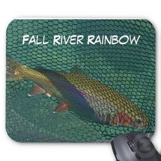 Fall River Rainbow Mouse Pad by Florals by Fred #zazzle #gift #photogift