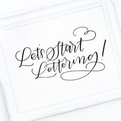 Are you obsessed with hand lettering? It's totally possible to teach yourself hand lettering by reading and watching online tutorials and classes.