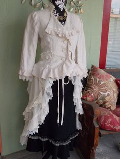 The Wedding Polonaise Steampunk Upcycled OOAK by ReviveGifts