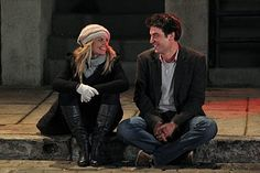 Jennifer Morrison as Zoey Pierson and Josh Randor as Ted Mosby from How I Met Your Mother Jennifer Morrison, Marshall And Lily, Barney And Robin, History Of Television, Ted Mosby, Jessica Day, Giving Up On Love, Himym, How I Met Your Mother