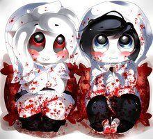 Adorable killers... @bendrowned05 @jeffnyoom
