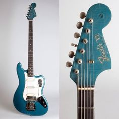 1964 Fender Bass VI in Lake Placid Blue