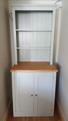 Made To Measure Open Top Kitchen Dresser Painted With Oak Call Now For Details
