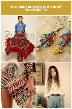 Cool 42 Stunning Boho Chic Outfit Every Girl Should Try Boho fashion Hippie 42 Stunning Boho Chic Outfit Every Girl Should Try Every Girl, Hippie Style, Chic Outfits, Boho Shorts, Boho Fashion, Boho Chic, Women, Dressy Outfits, Boho Outfits