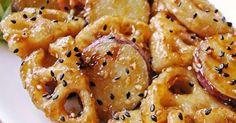 ★1万レポ感謝★デパ地下の「根菜の酢豚」をアレンジ。フライパンでカリッと焼き、甘酢しょうゆを絡めます 。