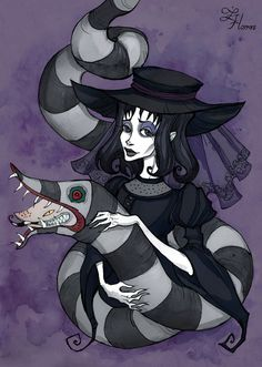 Lydia Deetz by IrenHorrors on DeviantArt