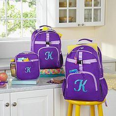 Gift Idea For Kids  Solid Purple Embroidered Backpack  #Christmas #Christmas2016  #Xmas  #ILoveXmas  #XmasIsComming #Xmaslet  #Recipes #ChristmasDecoration #Christmastree #Christmassong  #Gifts  #ChristmasGifts  #ChristmasCountdown