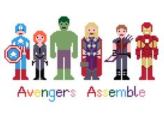 Cross Stitch Your Heart Out With These Fandom Sprites | The Mary Sue