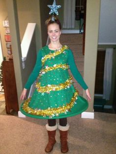 "ugly sweater party dress  Needing ideas for a FUN Ugly Christmas Sweater Party check out ""The How to Party In An Ugly Christmas Sweater"" at Amazon.com"