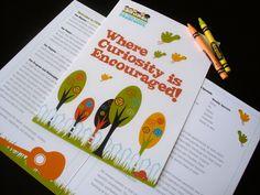 Preschool Branding by Nina Randone, via Behance