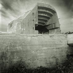 "The Architecture of Violence | Marcelo Isarrualde  During world war II the German army built a defense system for the territories occupied that is known as the ""Atlantic wall"". Near 15.000 frames of reinforced concrete were constructed all along France, which possibly constituted the last physical wall in the history of Europe as a monument with a clear identity : war itself."
