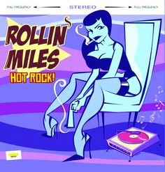 "Rollin Miles-Skinny Rec., 2004. 10"""
