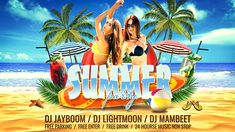 Summer Party (Holidays)  After Effects Templates #aftereffects