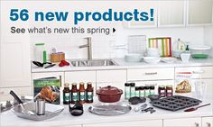 Here is a pic of our new Spring/Summer products.  To take a closer look check out my website.www.pamperedchef.biz/stephbrown