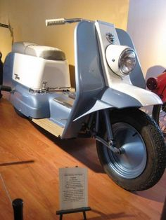 topper - the only scooter ever produced by harley davidson from 1960-1965.
