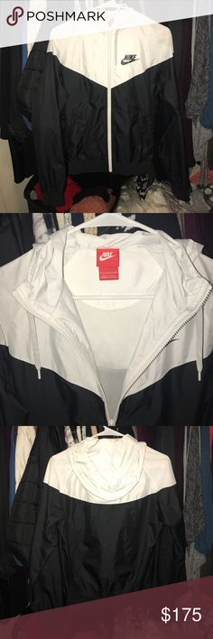 Nike Windbreaker Perfect condition vintage Nike jacket.     Welcomed to use the offer button ! Nike Jackets & Coats