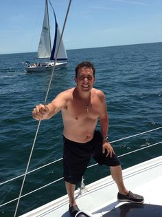 "The Health Benefits of Sailing ""...not only is sailing an Adrenalin rush, it also gives you a fun workout!"""