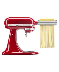Powered by the KitchenAid Stand Mixer, the Pasta Roller & Cutter Set makes fresh pasta from scratch quickly & easily. Includes Pasta Roller, Spaghetti Cutter and Fettuccine Cutter. Kitchenaid Artisan, Kitchenaid Stand Mixer, Gourmet Food Gifts, Gourmet Recipes, Small Kitchen Appliances, Kitchen Aid Mixer, Basic Pasta Recipe, Fresh Pasta, Cooking Gadgets