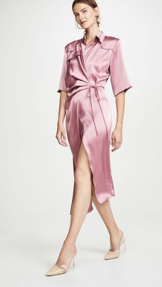See and shop the dresses our editor would wear to work this season. Office Dress Code, Daytime Dresses, Online Dress Shopping, Fashion Labels, Contemporary Fashion, Dot Dress, Dress Codes, Who What Wear, Work Wear