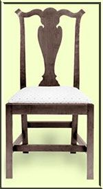 chair, Thomas Chippendale style