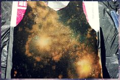 DIY TUTORIAL: Make a Galaxy With Bleach and Acrylic Paint - Various Adulations About Life, Screencapped