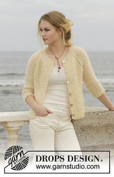 Ravelry: 191-8 Le Conquet pattern by DROPS design