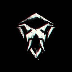 Logo for @valrusdnb 2017 #creative #logo #valrus #walrus #glitch #dnb #drumandbass