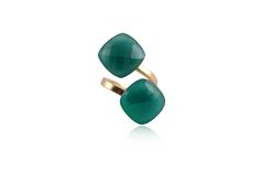 GREEN RING: MADE BY ANA MARIA EDER