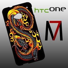 Features: and attractive outlook to fit for HTC One perfectly, and can be installed/removed easily your HTC One from external scratches and shocks or dirt Htc One M7, Dragon Art, Stylish, Fit, Shape