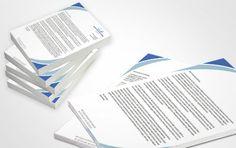 La carta intestata è un prodotto utile a tutti, serve per dare professionalità ed eleganza ai vostri documenti.   Può essere utilizzata come carta da lettere, carta per scrivere appunti, per stampare fatture o documenti.
