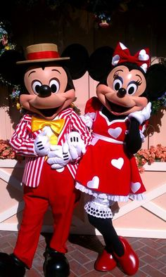If I ever get married in Disney, I want Mickey and Minnie to wear these outfits! Walt Disney, Mickey Mouse And Friends, Mickey Minnie Mouse, Disney Fun, Disney Mickey Mouse, Disney Magic, Disney Pixar, Disney Travel, Disney Word