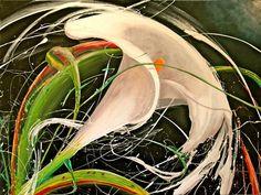 """Saatchi Art Artist: Mick Lestrade; """"Tour de Calla Lily"""""""