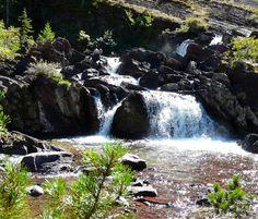 Red Rock Falls, Glacier National Park. #Montana