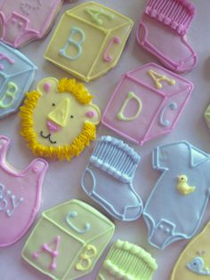 Baby shower cookies | Flickr - Photo Sharing!