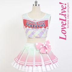 Minami Kotori Lovelive school idol project μ's Cheerleaders Cosplay Full set