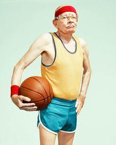 The Golden Years – Les seniors sportifs photographiés par Dean Bradshaw