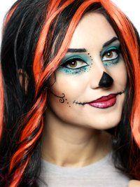 skelitas makeup for als halloween costume - Skelita Calaveras Halloween Costume
