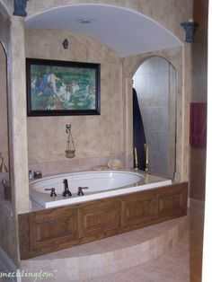 Pinterest Challenge Project   Antiqued Window | Garden Tub, Tubs And Bath