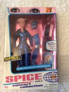 Spice girls dolls concert collection X 5 boxed dolls ****** Spice Girls Dolls, 5 Box, Spices, Baseball Cards, Concert, Children, Ebay, Collection, Young Children