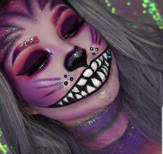 Make-up + # Make-up - Halloween - Halloween Makeup Clown, Amazing Halloween Makeup, Clown Makeup, Halloween Looks, Halloween Kostüm, Makeup Art, Makeup Eyes, Halloween Costumes, Cosplay Makeup